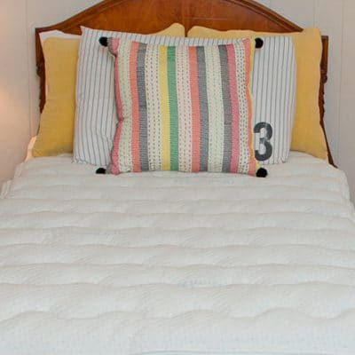 DormTopper College Mattress Topper is now handmade in all bed sizes.